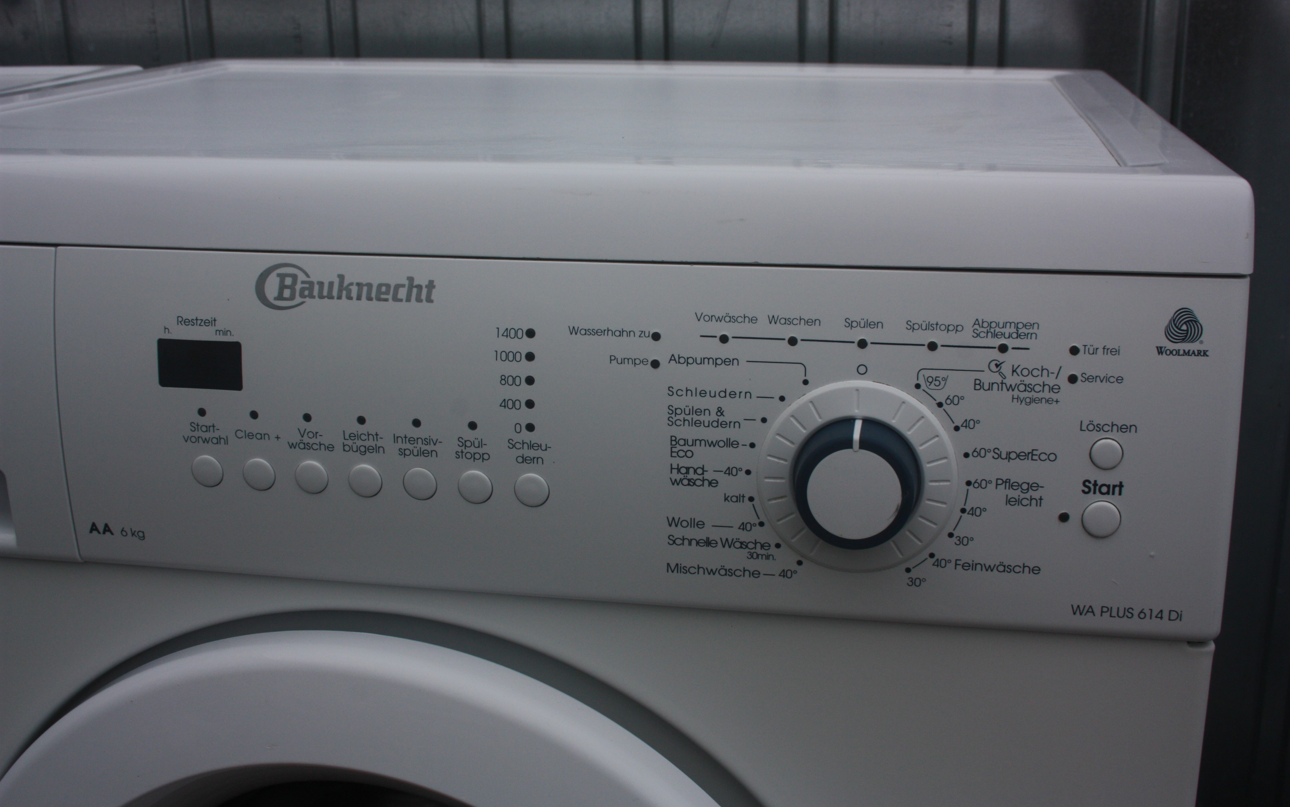 Pralka Bauknecht Wa Plus 614di 6 Kg 1400 Obr A Duzo Programow